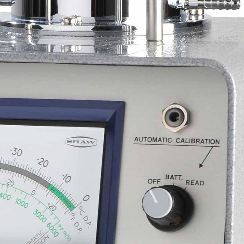 SHAW SADP hand held portable dew point meter, intrinsically safe hygrometer, calibration of dew point meter, Model SADP/SADP-D