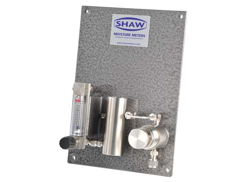 SHAW sample sytems SU4 sample plate,pressure flow suitable for measurement