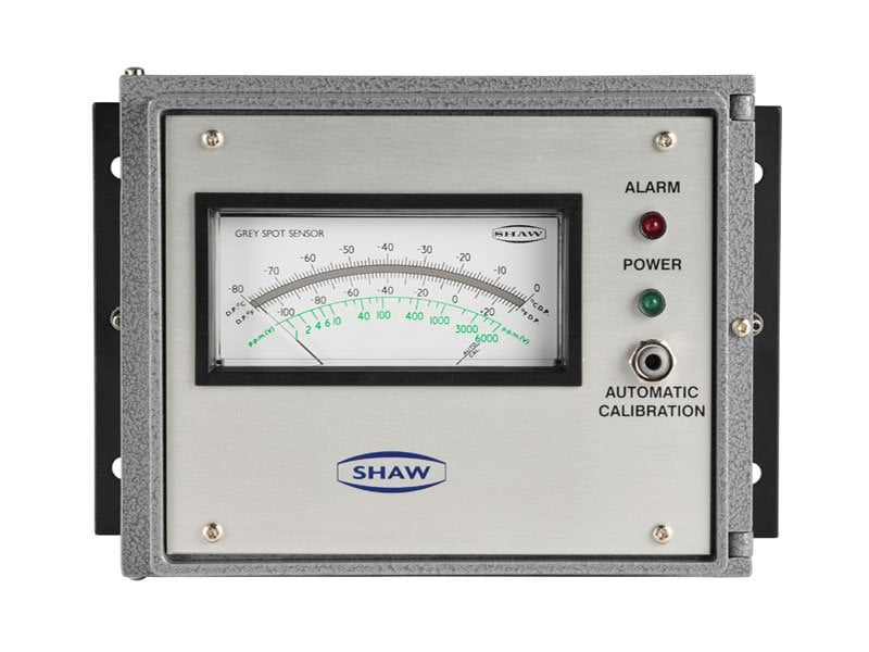 Shaw SDA inline dewpoint meter, air process gases
