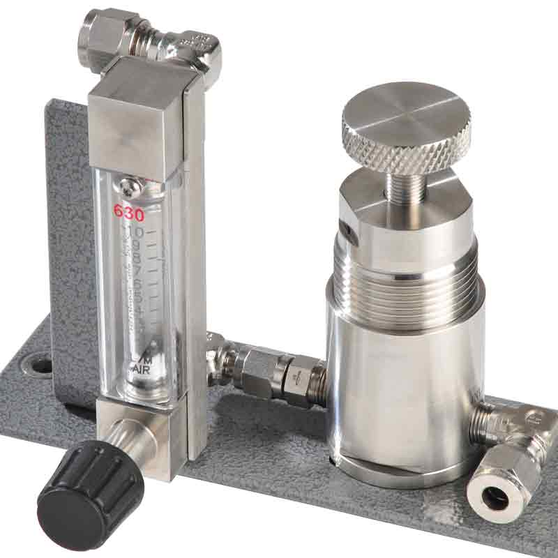 Shaw SU2 sample system,flow meter,pressure regulator, for use with Model SADP/SADP-D