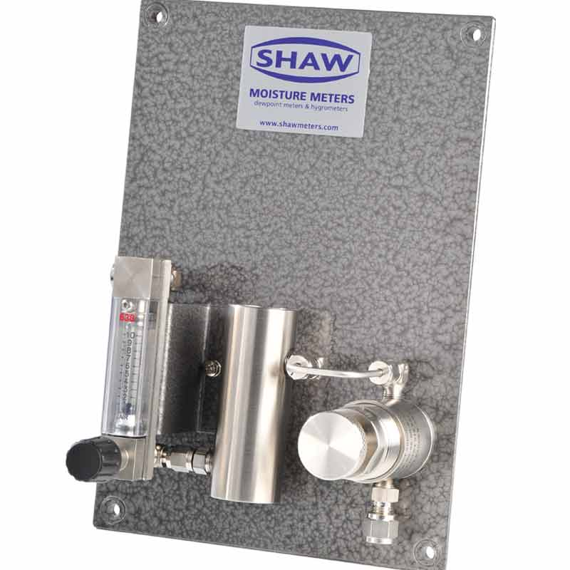 Shaw SU4 sample plate, accurate consistent gas sampling