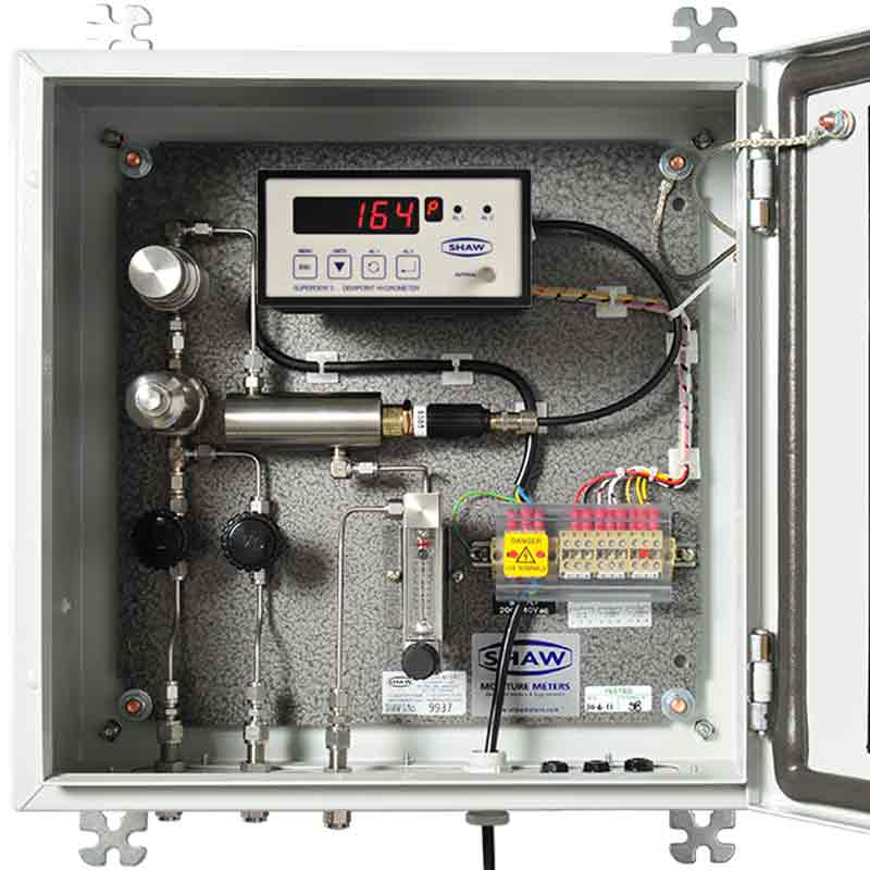 Shaw weatherproof sample system superdew 3,general compressed air and gas sampling