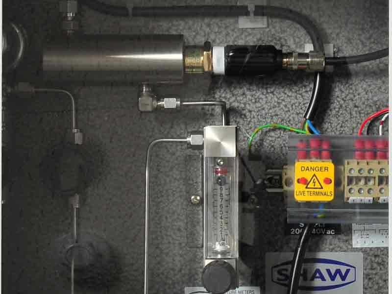 Shaw SWS-SD3 weatherproof sample system,ideal sampling conditions,gas or general compressed air sampling