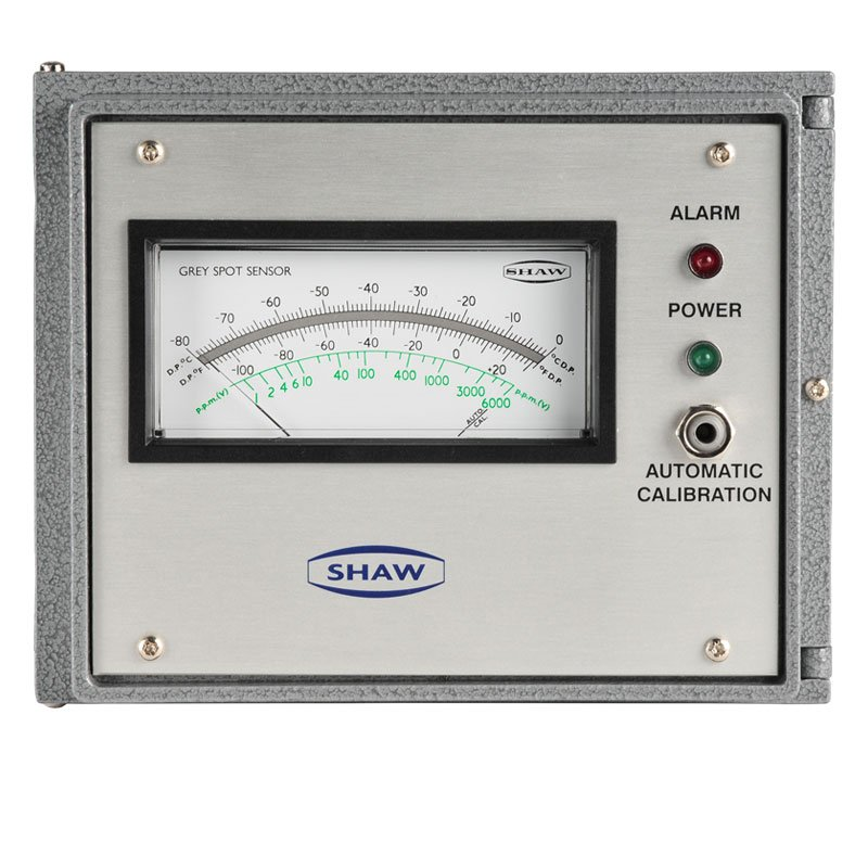 Shaw SDA dewpoint meter, air process gases
