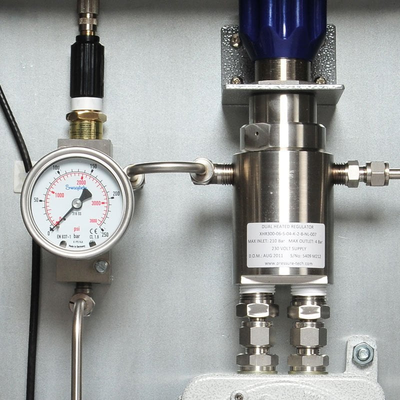 SHAW SSNGH sample system, Natural Gas applications