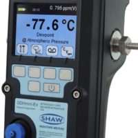 SHAW-SDHmini-Ex-hand held portable dewpoint meter PPM-and-secondary-engineering units