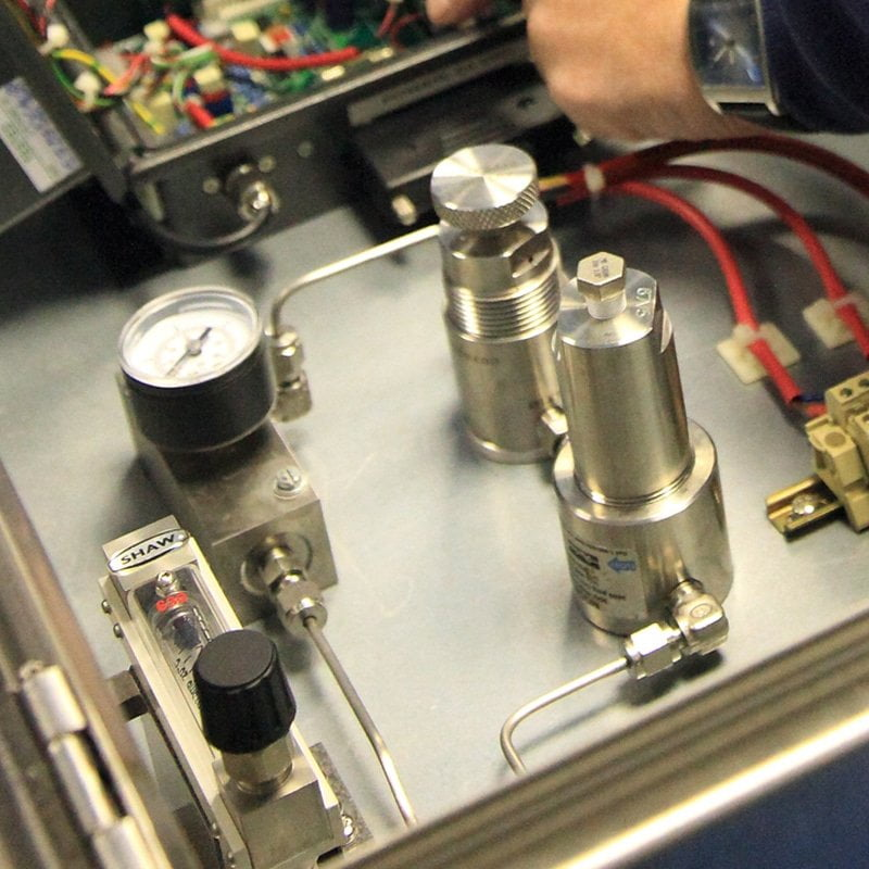 Shaw Moisture Meters dewpoint meter calibration and servicing