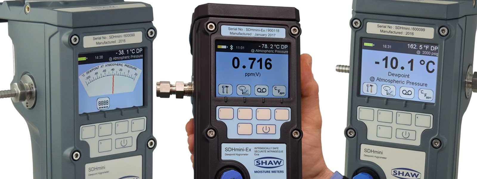 Shaw Moisture Meters expands its range of portable dewpoint meters
