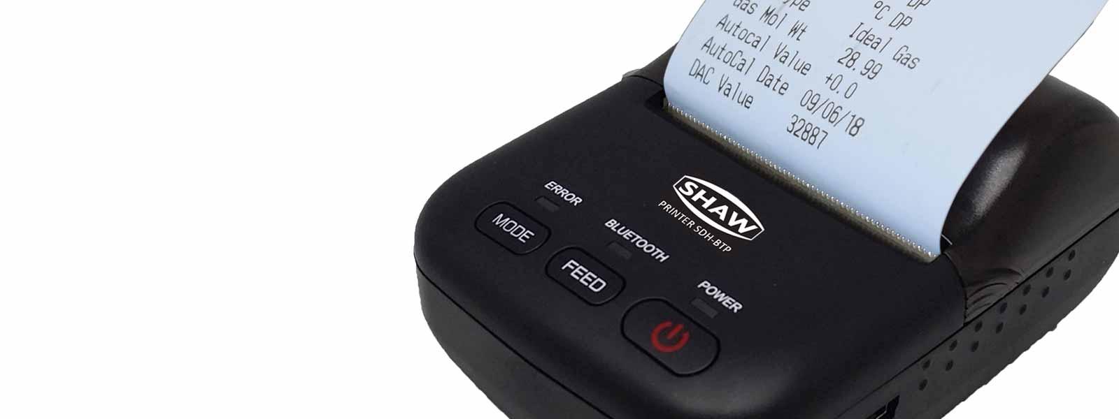 Bluetooth printer SDHmini portable dewpoint meter and hand held hygrometer