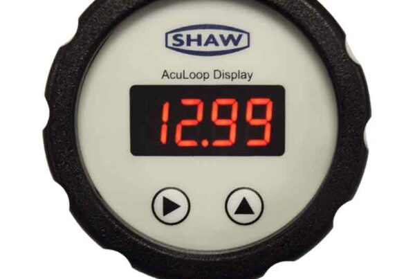 SHAW AcuLoop plug in LED display, used with AcuDew dewpoint transmitter, part of the SHAW Acu range